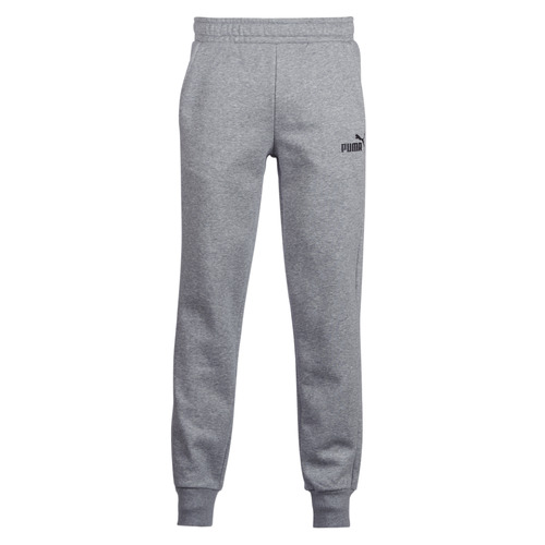 Clothing Men Tracksuit bottoms Puma SWEAT PANT Grey