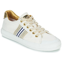 Shoes Women Low top trainers Replay EXTRA White / Gold