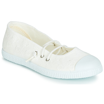 Shoes Girl Flat shoes Chipie SOFAY BROB White / Lace