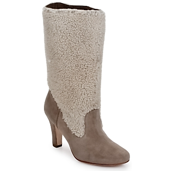 Shoes Women Ankle boots Paul & Joe Sister VANILLE  BLACK / Patent