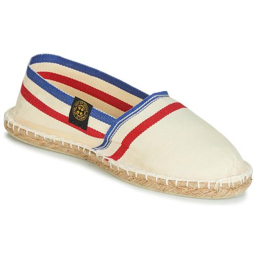 Shoes Espadrilles Art of Soule RAYETTE Beige / Blue / Red