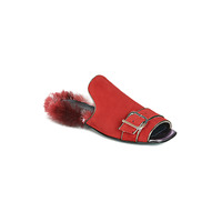 Shoes Women Mules Papucei OBSENTUM Red