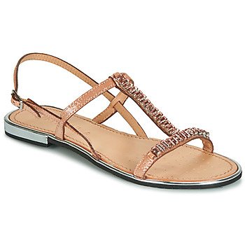 Shoes Women Sandals Geox D SOZY PLUS Bronze