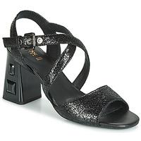 Shoes Women Sandals Geox D SEYLA S. HIGH PLUS Black