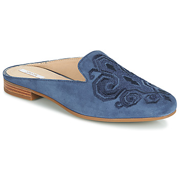 Shoes Women Mules Geox D MARLYNA Blue