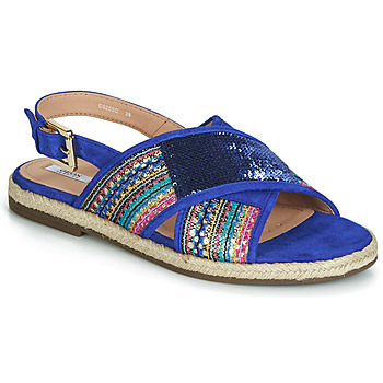 Shoes Women Sandals Geox D KOLEEN Multicoloured