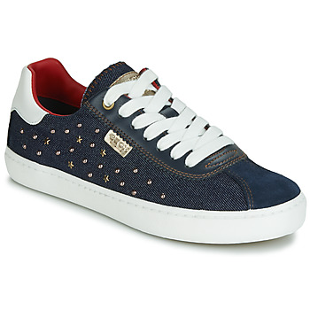 Shoes Girl Low top trainers Geox J KILWI GIRL Marine