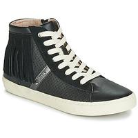 Shoes Girl Hi top trainers Geox J KILWI GIRL Black