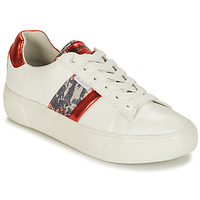 Shoes Women Low top trainers Refresh 69954 White / Red