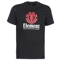 Clothing Men Short-sleeved t-shirts Element VERTICAL SS Black