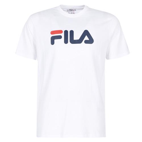Clothing short-sleeved t-shirts Fila PURE Short Sleeve Shirt White