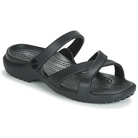 Shoes Women Sandals Crocs MELEEN CrossBand Sandal W  black