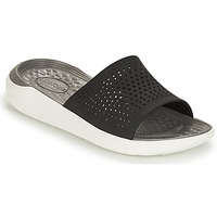 Shoes Sliders Crocs LITERIDE SLIDE Black / White
