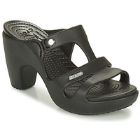 Shoes Women Mules Crocs CYRPRUS Black