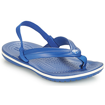 Shoes Children Flip flops Crocs CROCBAND STRAP FLIP K Blue