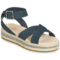 Shoes Women Sandals Clarks Botanic Poppy Navy