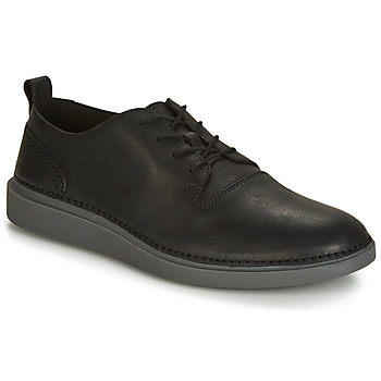 Shoes Men Low top trainers Clarks HALE LACE  black
