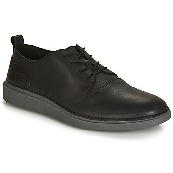 Shoes Men Low top trainers Clarks HALE LACE  black