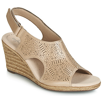 Shoes Women Sandals Clarks LAFLEY ROSEN Nude