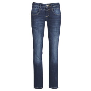 Clothing Women Straight jeans Freeman T.Porter Cathya SDM Blue / Dark