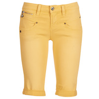 Clothing Women Shorts / Bermudas Freeman T.Porter Belixa New Magic Color Yellow