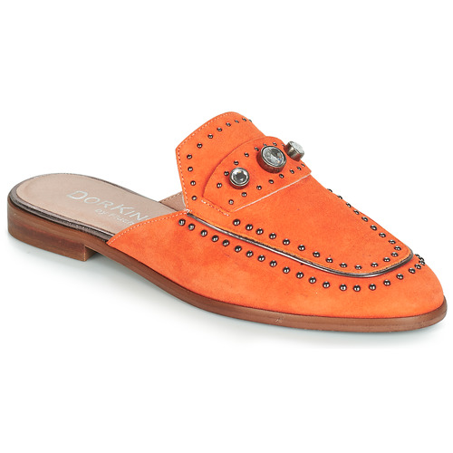 Shoes Women Mules Dorking 7783 Orange