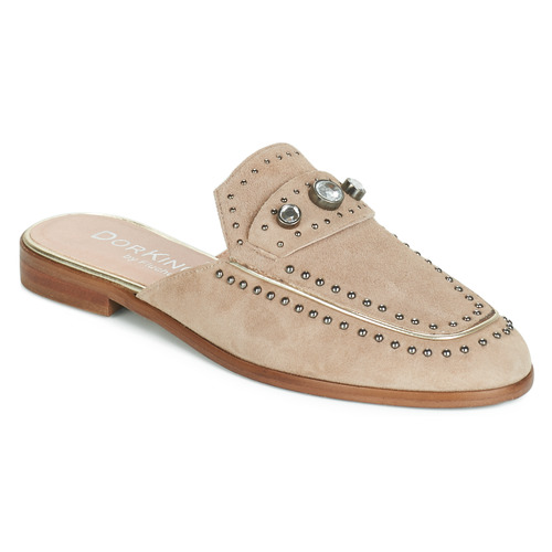 Shoes Women Mules Dorking 7783 Taupe