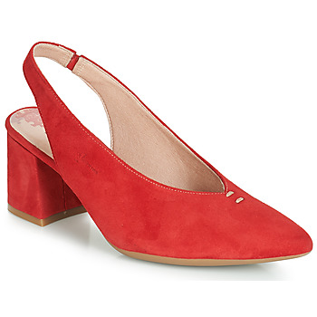 Shoes Women Heels Dorking 7806 Red