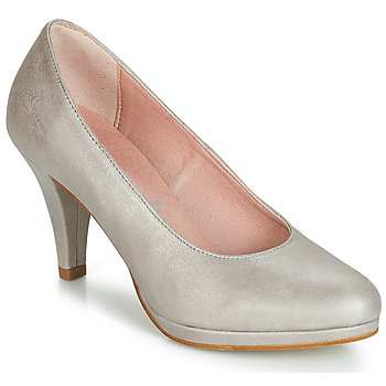 Shoes Women Heels Dorking 7118 Silver