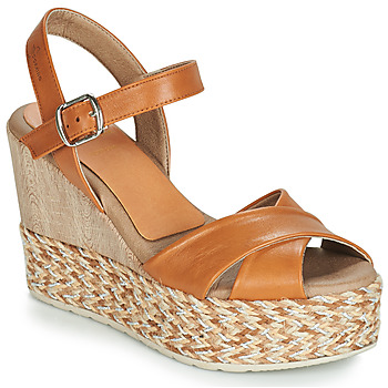 Shoes Women Sandals Dorking 7753 Brown