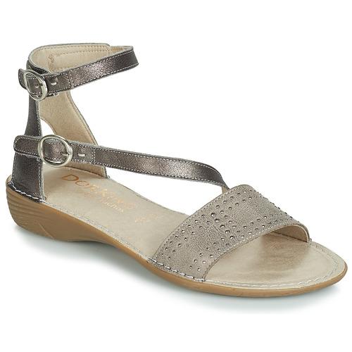 Shoes Women Sandals Dorking 7863 Grey