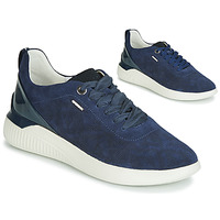 Shoes Women Low top trainers Geox THERAGON Navy