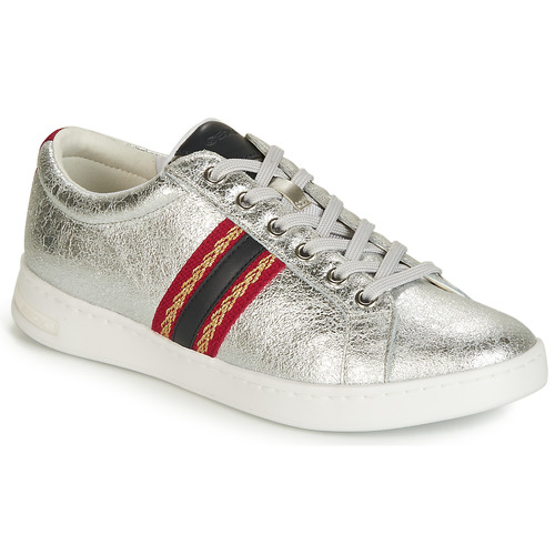 Shoes Women Low top trainers Geox JAYSEN A Silver