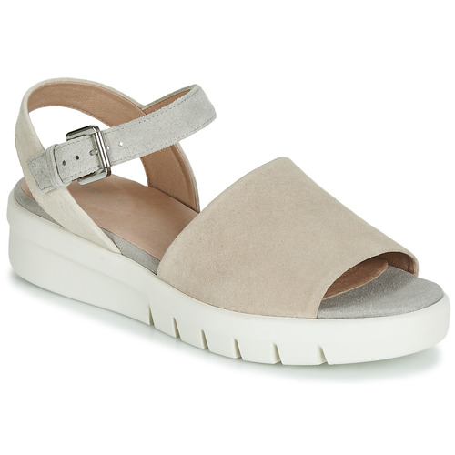 Shoes Women Sandals Geox WIMBLEY SAND Beige