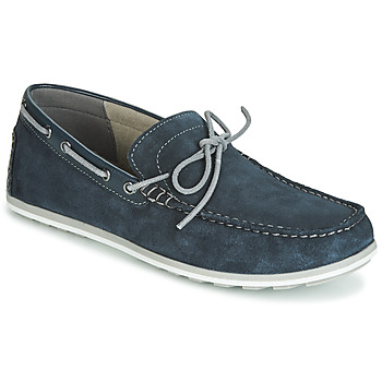 Shoes Men Boat shoes Geox MIRVIN Navy