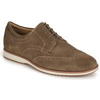 Shoes Men Derby Shoes Geox BLAINEY Brown