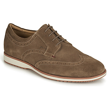 Shoes Men Derby Shoes Geox BLAINEY Brown