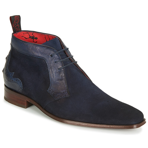 Shoes Men Mid boots Jeffery-West SCARFACE Navy