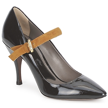 Shoes Women Heels Etro SHIRLEY Black / MUSTARD