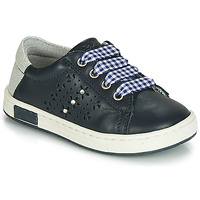 Shoes Girl Low top trainers Chicco CLARETTA Marine / Vichy
