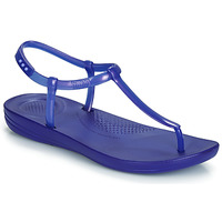 Shoes Women Sandals FitFlop IQUSHION SPLASH - PEARLISED Blue