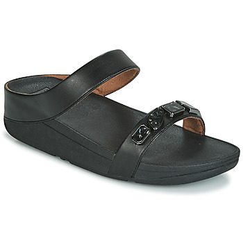 Shoes Women Sandals FitFlop FINO SHELLSTONE  black