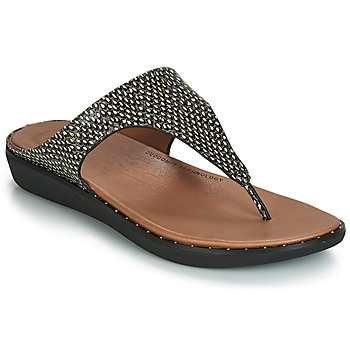 Shoes Women Sandals FitFlop BANDA II DOTTED-SNAKE Natural / Snake