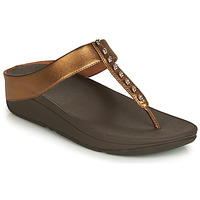 Shoes Women Sandals FitFlop FINO TREASURE Bronze