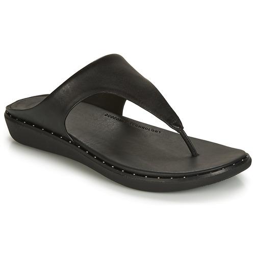 Shoes Women Flip flops FitFlop BANDA II Black
