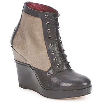 Shoes Women Ankle boots Antonio Marras CALIB Grey / Black