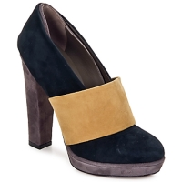 Shoes Women Heels Kallisté BOTTINE 5854 Grey-mustard