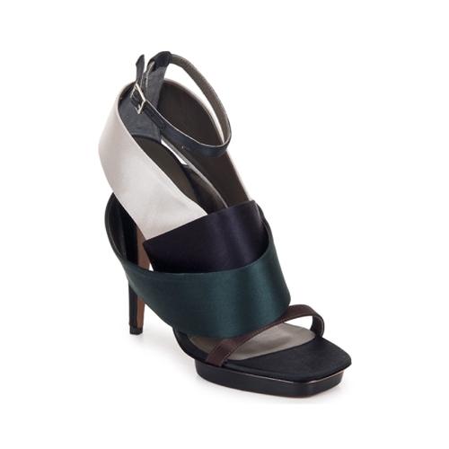 Shoes Women Sandals Kallisté NU-PIED 5801 Silver