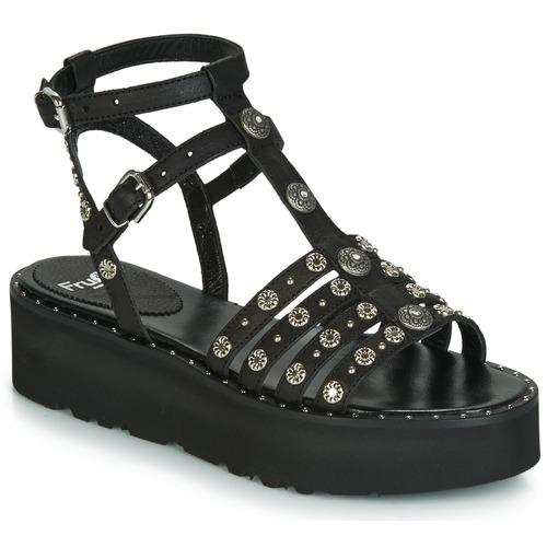 Shoes Women Sandals Fru.it 5433-476 Black