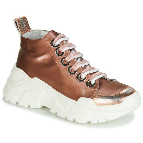 Shoes Women Low top trainers Fru.it 5390-850 Bronze